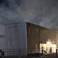 16 brand lagerhalle luenen