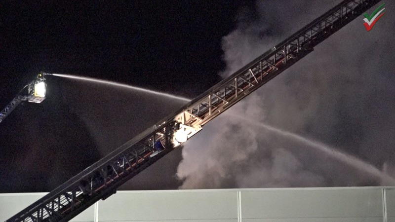 18 brand lagerhalle luenen
