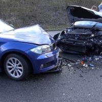 003 vu frontal gegenverkehr 4 verletzte