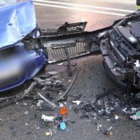 008 vu frontal gegenverkehr 4 verletzte
